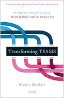TRANSFORMING TEAMS: Book by NICOLA MCHALE