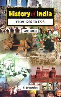 History of India: Book by N. Jayapalan