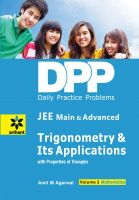 Daily Practice Problems (DPP) for JEE Main & Advanced Mathematics Volume-3 Trigonometry & Its Applications: Book by Amit M Agarwal