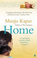 Home: Book by Manju Kapur