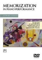 Memorization in Piano Music: DVD: Book by Stewart Gordon (Thornton Sc hool of Music of the University of Southern California University of Michigan, Ann Arbor University of Michigan, Ann Arbor University of Michigan, Ann Arbor University of Michigan, Ann Arbor University of Michigan, Ann Arbor)