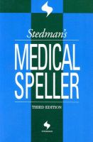 Stedman's Medical Speller: Book by Stedman's