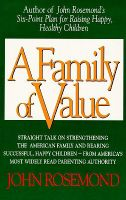 A Family of Value: Book by John K Rosemond