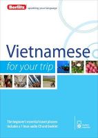 Berlitz Language: Vietnamese for Your Trip: Book by Berlitz