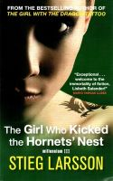 The Girl Who Kicked the Hornets' Nest:Book by Author-Stieg Larsson , Reg Keeland