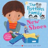 The Buttons Family: New Shoes: Book by Vivian French