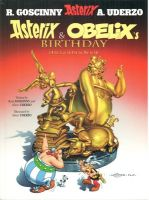 Asterix and Obelix's Birthday: The Golden Book:Book by Author-Uderzo , Goscinny