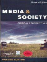 Media & Society: Book by BURTON