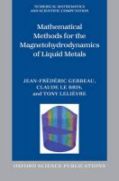 Mathematical Methods for the Magnetohydrodynamics of Liquid Metals: Book by Jean-Frederic Gerbeau , Claude Le Bris , Tony Lelievre