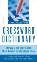 Bantam Crossword Dictionary: Book by Walter D. Glanze , Jerome Fried
