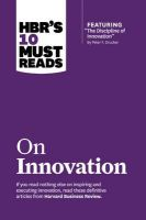 HBR's 10 Must Reads on Innovation: Book by Harvard Business Review