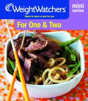 Weight Watchers - Weight Watchers Mini Series: For One and Two