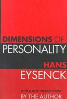Dimensions of Personality: Book by H. J. Eysenck
