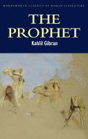 The Prophet:Book by Author-Kahlil Gibran , Tom Griffith