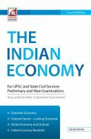 8.26.1-The Indian Economy: Book by Sanjeev Verma '