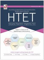 31.18.1-HTET.Paper-II (Math & Science) (E): Book by Anil Teotia/ R.P. Singh