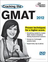 Cracking the GMAT:Book by Author-Geoff Martz , Adam Robinson