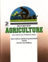 Agriculture for Civil Services Preliminary Exam (Paperback): Book by Pratibha Pandey
