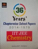 IIT JEE - Chemistry : 36 Year's Chapterwise Solved Papers (2014 - 1979)