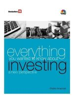 Everything You Wanted to Know About Investing a New Perspective (English) 1st Edition (Hardcover): Book by Shalini Amarnani