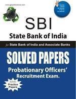 SBI P O Solved Papers:Book by Author-G. K