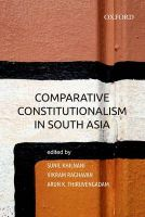 Comparative Constitutionalism in South Asia: Book by Sunil Khilnani & Vikram Raghavan & Arun K Thiruvengadam