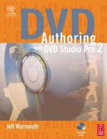 DVD Authoring with DVD Studio Pro 2:Book by Author-Jeff Warmouth