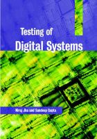 Testing of Digital Systems: Book by N. K. Jha