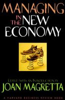 Managing in the New Economy