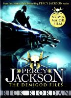 Percy Jackson: The Demigod Files:Book by Author-Rick Riordan