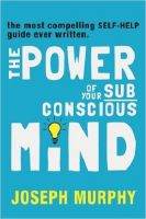 the power of your subconscious mind: Book by NILL
