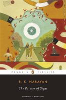 The Painter of Signs: Book by R. K. Narayan