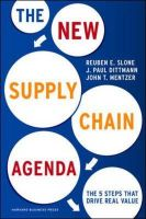New Supply Chain Agenda: The 5 Steps That Drive Real Value:Book by Author-Reuben E. Slone , John T. Mentzer , J. Paul Dittmann