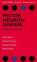 Motor Neuron Disease: A Practical Manual: Book by Kevin Talbot