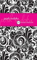 Posh Suduko: 100 Pocket Puzzles: Book by The Puzzle Society