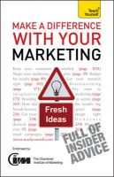 Teach Yourself Make a Difference with Your Marketing:Book by Author-Jonathan Gabay