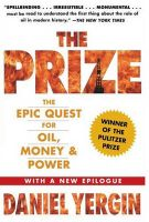 The Prize: The Epic Quest for Oil, Money and Power:Book by Author-Daniel Yergin