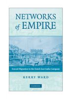 Networks of Empire: Forced Migration in the Dutch East India Company: Book by Kerry Ward