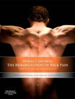 Spinal Control: State of the Art and Science