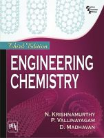 Engineering Chemistry (English) 3rd  Edition