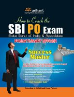SBI PO Exam - Probationary Officer Success Master (E):Book by Author-Arihant Experts