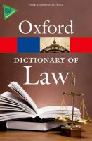 Dictionary of Law: Book by Oxford
