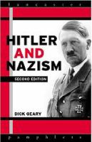 Hitler and Nazism: Book by Dick Geary