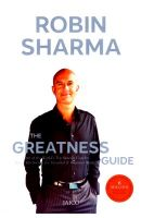 The Greatness Guide: The 10 Best Lessons Life Has Taught Me: Book by Robin S. Sharma