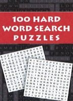 100 HARD WORD SEARCH PUZZLES: Book by PEGASUS