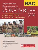20.02-S.S.C : Recruitment of Constables (GD): Book by Unique Research Academy