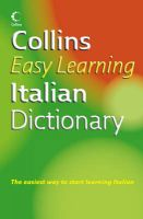 Collins Easy Learning Italian Dictionary 1st Edition: Book by Collins-dictionary