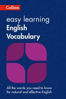 Collins Easy Learning English - Easy Learning English Vocabulary: Book by Collins Dictionaries