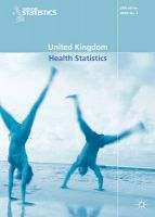 United Kingdom Health Statistics: 2005: Book by Office for National Statistics