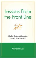 Lessons from the Front Line: Book by Michael Brush